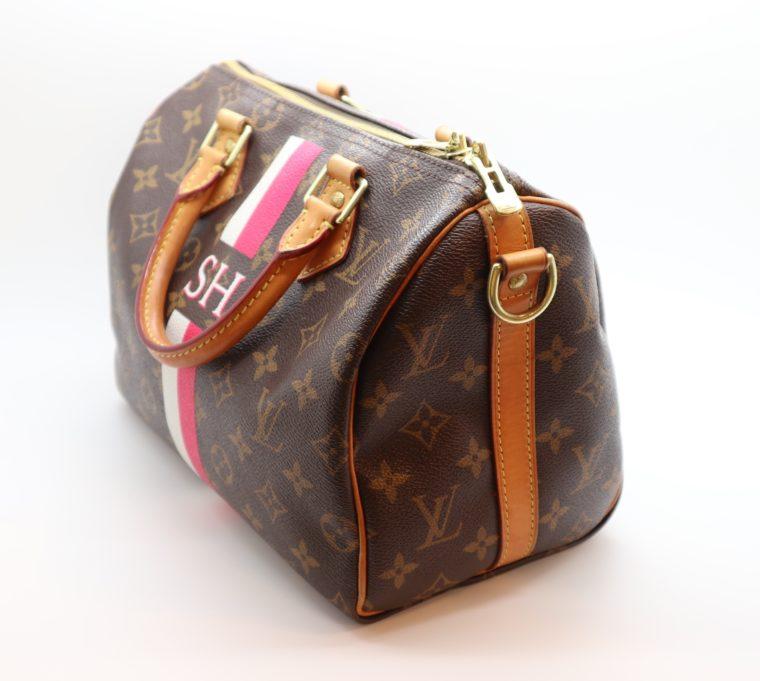 Louis Vuitton Tasche Speedy 25 band. Mon Monogram-15433