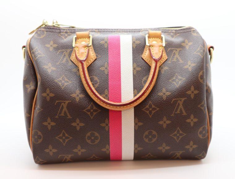 Louis Vuitton Tasche Speedy 25 band. Mon Monogram-0