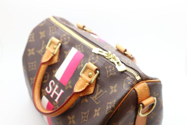 Louis Vuitton Tasche Speedy 25 band. Mon Monogram-15439