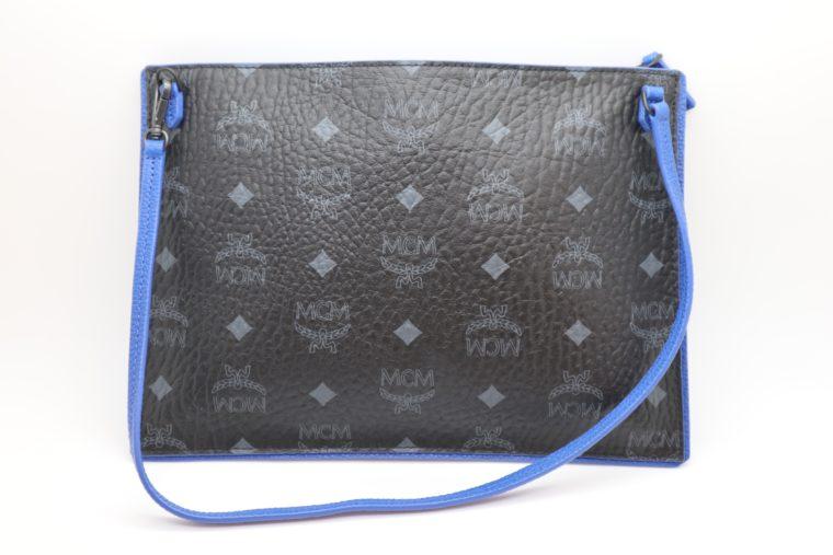 MCM Tasche Pochette schwarz blau-15338