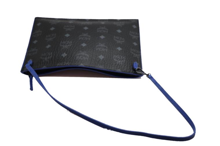 MCM Tasche Pochette schwarz blau-15342