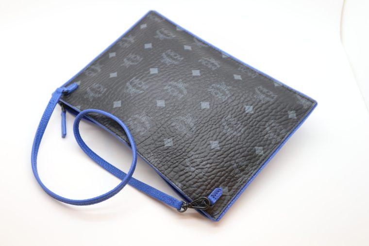 MCM Tasche Pochette schwarz blau-15343