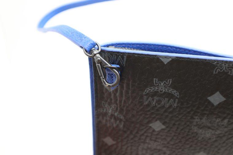 MCM Tasche Pochette schwarz blau-15344