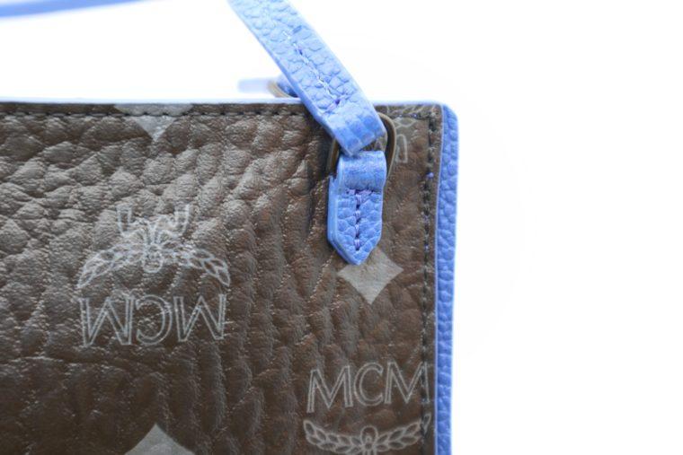 MCM Tasche Pochette schwarz blau-15345