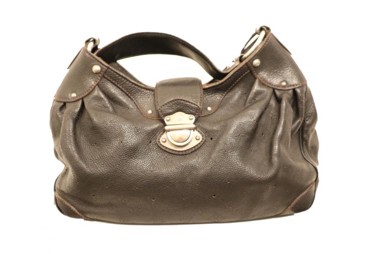 Louis Vuitton Tasche Mahina Leder schwarz-0