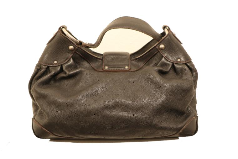 Louis Vuitton Tasche Mahina Leder schwarz-15518