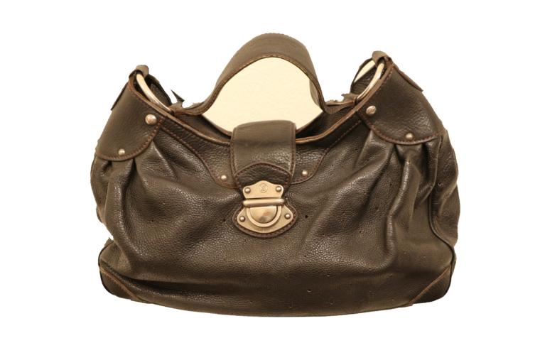 Louis Vuitton Tasche Mahina Leder schwarz-15520