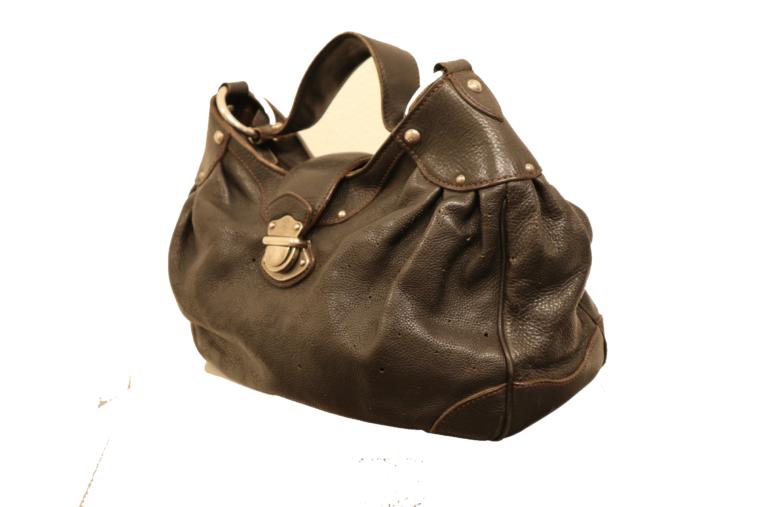 Louis Vuitton Tasche Mahina Leder schwarz-15521