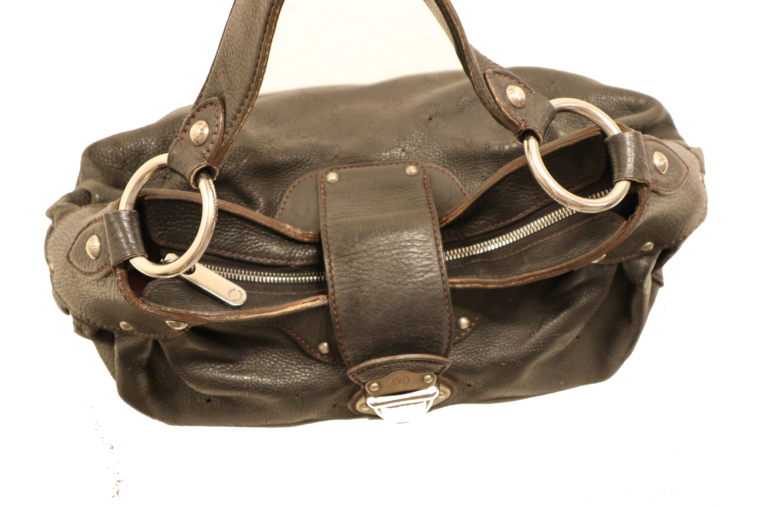 Louis Vuitton Tasche Mahina Leder schwarz-15523