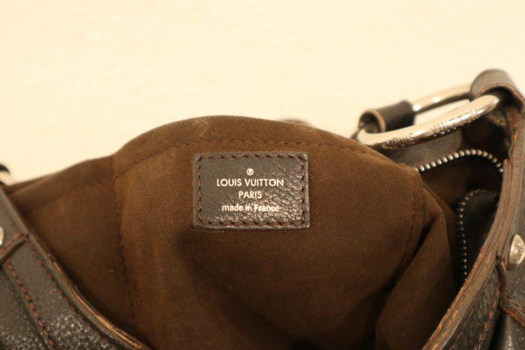 Louis Vuitton Tasche Mahina Leder schwarz-15524