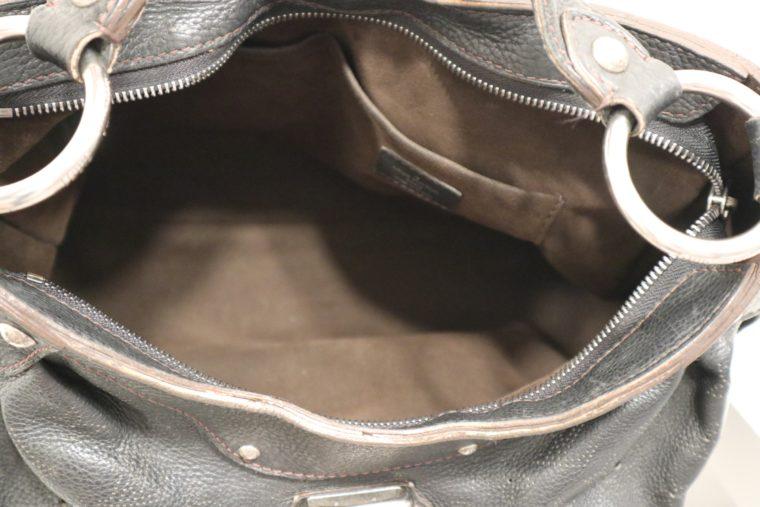 Louis Vuitton Tasche Mahina Leder schwarz-15525