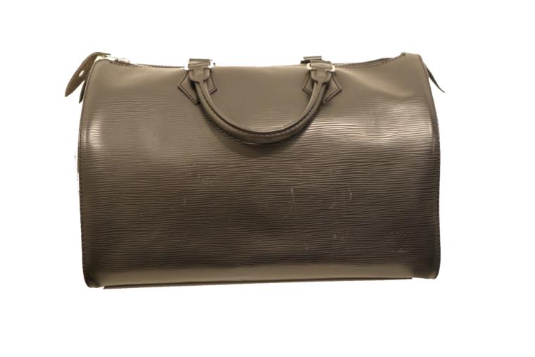 Louis Vuitton Speedy 30 Epileder schwarz-0