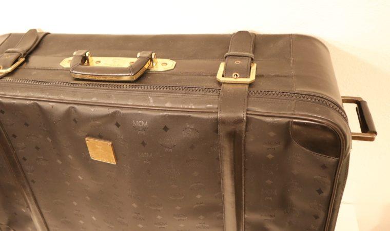 MCM Koffer Trolley schwarz-15152