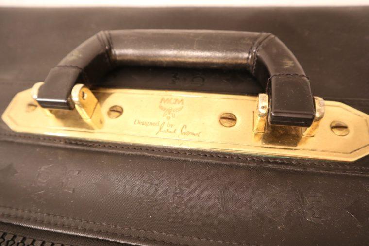 MCM Koffer Trolley schwarz-15154