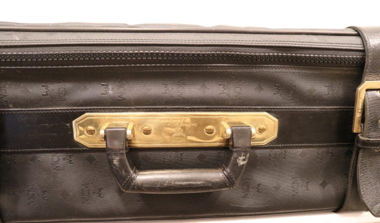 MCM Koffer Trolley schwarz-15160
