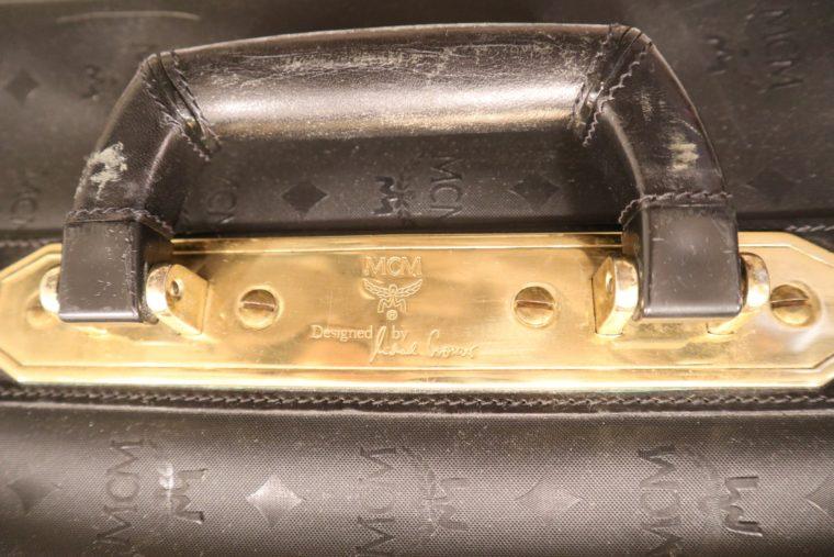 MCM Koffer Trolley schwarz-15161