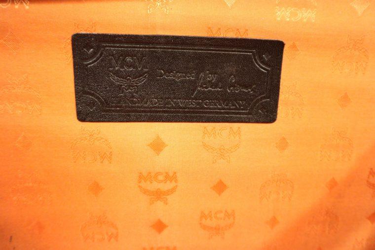 MCM Koffer Trolley schwarz-15164