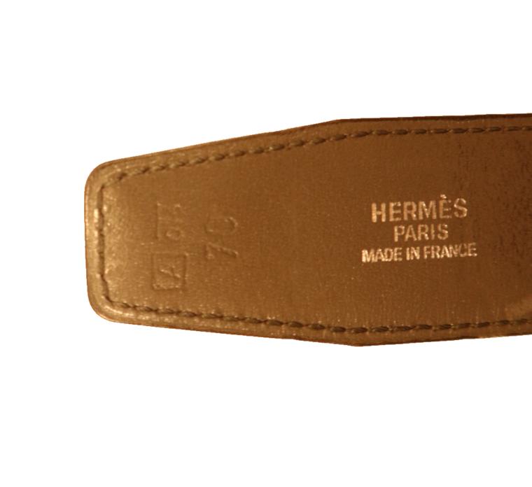 Hermes Gürtel Wendegürtel grau dunkelgrün-15255