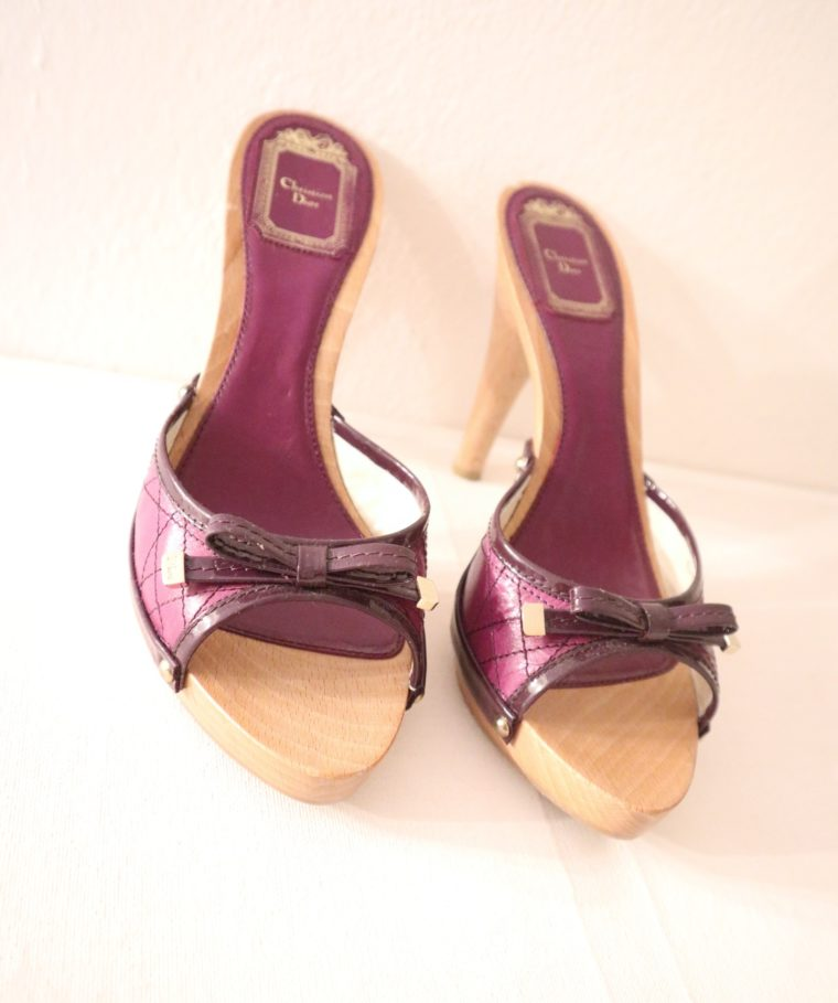 Christian Dior Pumps violett 37-15461