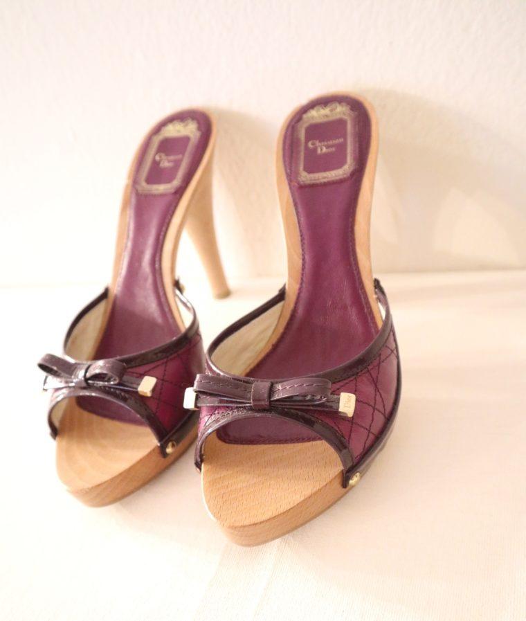 Christian Dior Pumps violett 37-15462