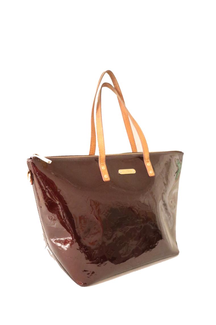 Louis Vuitton Tasche Bellevue Vernis Leder violett-15510