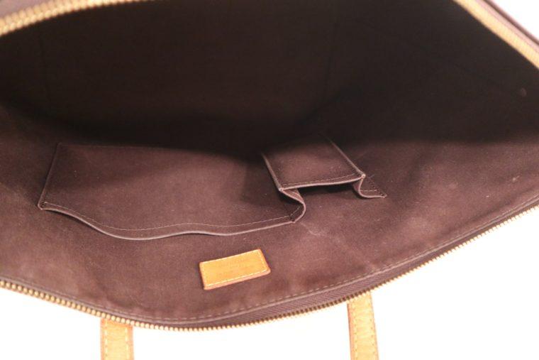 Louis Vuitton Tasche Bellevue Vernis Leder violett-15514