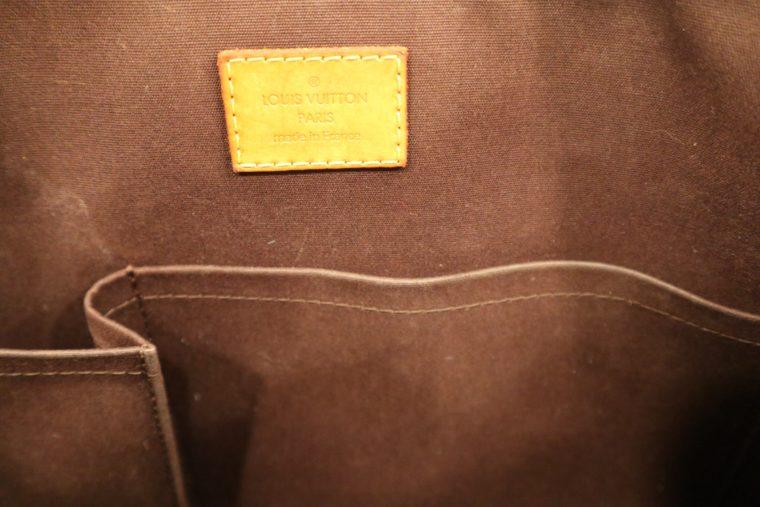 Louis Vuitton Tasche Bellevue Vernis Leder violett-15515