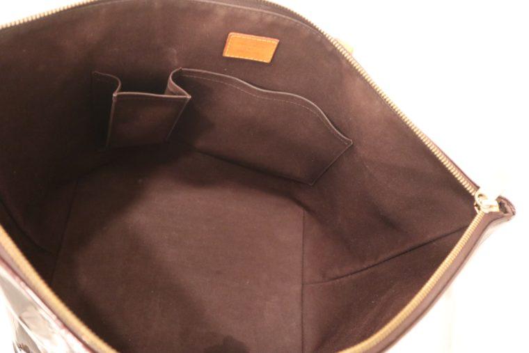 Louis Vuitton Tasche Bellevue Vernis Leder violett-15516
