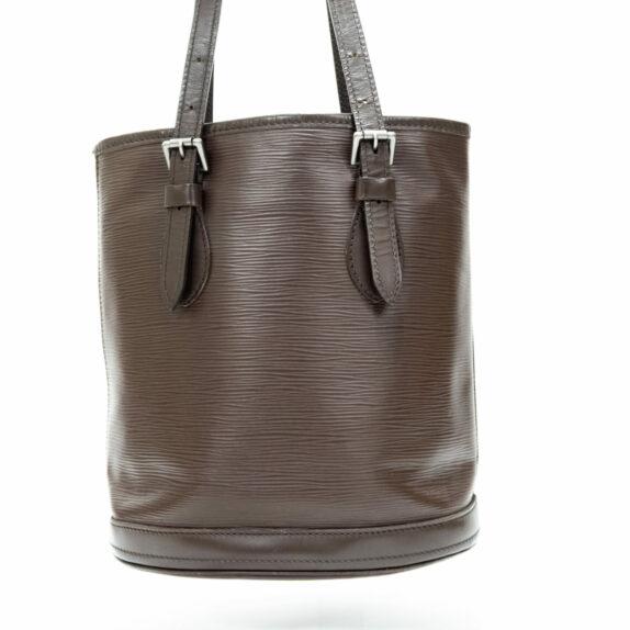 Louis Vuitton Tasche Bucket Epi Leder braun