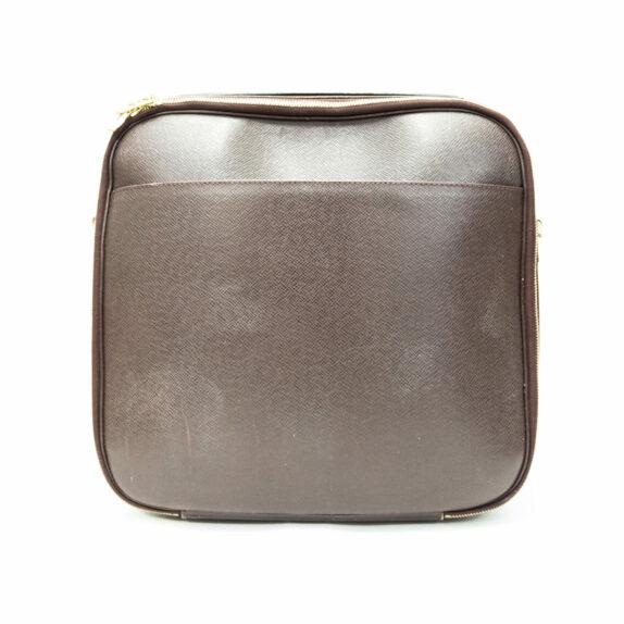 Louis Vuitton Tasche Porte Ordinateur Tura Taiga Leder rot