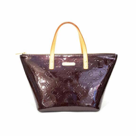 Louis Vuitton Tasche Bellevue PM Vernis Leder amarante