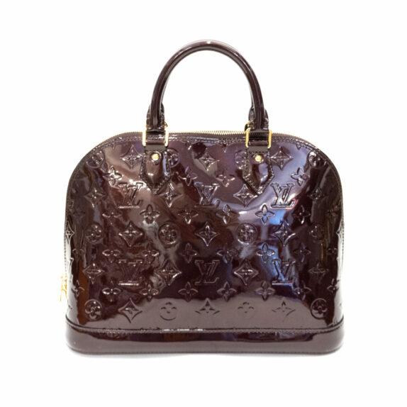 Louis Vuitton Tasche Alma Vernis Leder amrante